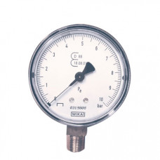 "Contimac geijkte manometer 1/4"" radiale aansluiting (max 10 bar) 25527"