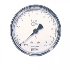"Contimac geijkte manometer 1/4"" axiale aansluiting (max. 10 bar) 25525"